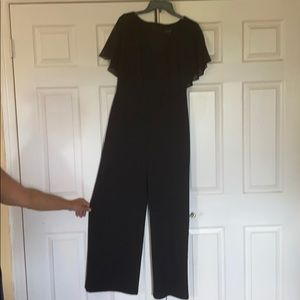 Brand new black jumpsuit connected apparel